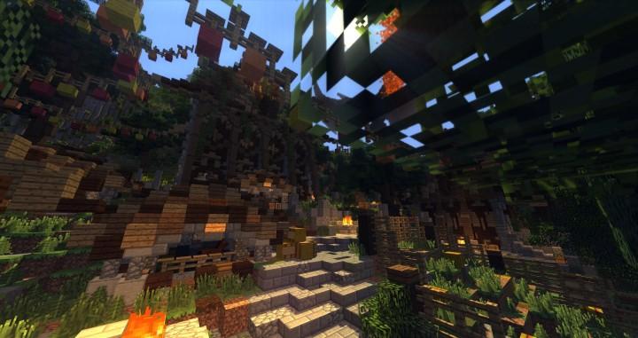 Sauzelor's World by Bedporsche DeepAcademy minecraft building ideas fantasy download 10