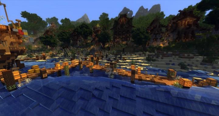 Sauzelor's World by Bedporsche DeepAcademy minecraft building ideas fantasy download 11