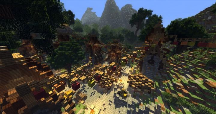 Sauzelor's World by Bedporsche DeepAcademy minecraft building ideas fantasy download 12