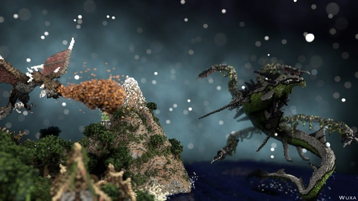 Sauzelor's World by Bedporsche DeepAcademy minecraft building ideas fantasy download 4