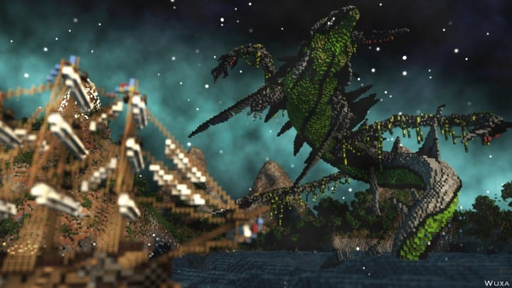 Sauzelor's World by Bedporsche DeepAcademy minecraft building ideas fantasy download 5