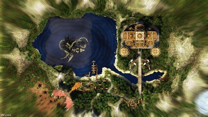 Sauzelor's World by Bedporsche DeepAcademy minecraft building ideas fantasy download 6