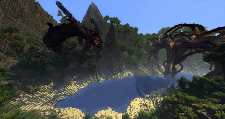 Sauzelor's World by Bedporsche DeepAcademy minecraft building ideas fantasy download 8