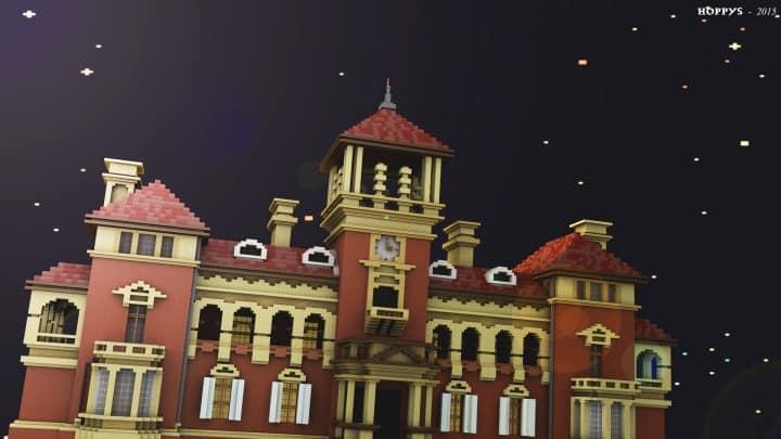 Thomas Walker Convalescent Hospital – Minecraft Building Inc