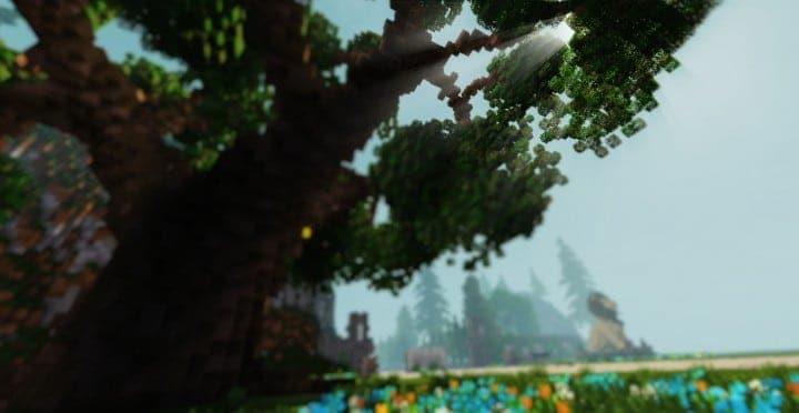 PineVale Mansion fantasy house minecraft building ideas world save download 10