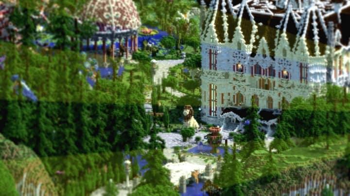PineVale Mansion fantasy house minecraft building ideas world save download 5
