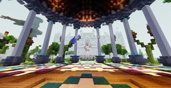 PineVale Mansion fantasy house minecraft building ideas world save download 9