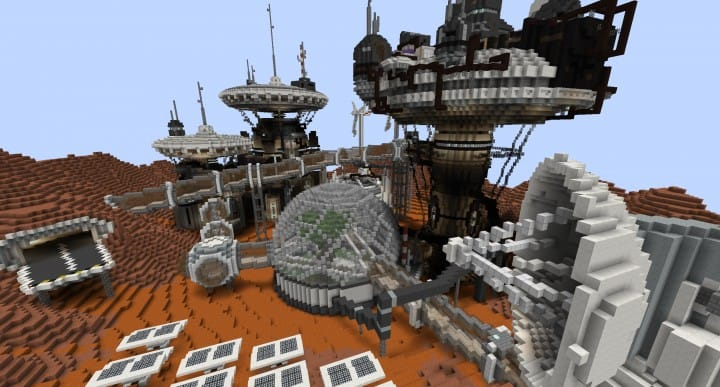 Mars Complex Foxtrot minecraft building ideas download planet space contect nasa 4