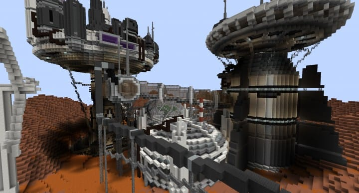 Mars Complex Foxtrot minecraft building ideas download planet space contect nasa 5