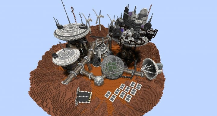 Mars Complex Foxtrot minecraft building ideas download planet space contect nasa 8