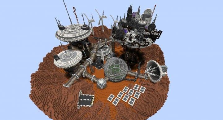 Mars Complex Foxtrot minecraft building ideas download planet space contect nasa 8