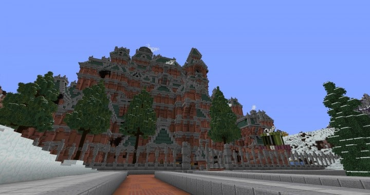 The Northin City by team Glassman minecraft building ideas download save amazing complete finished 10
