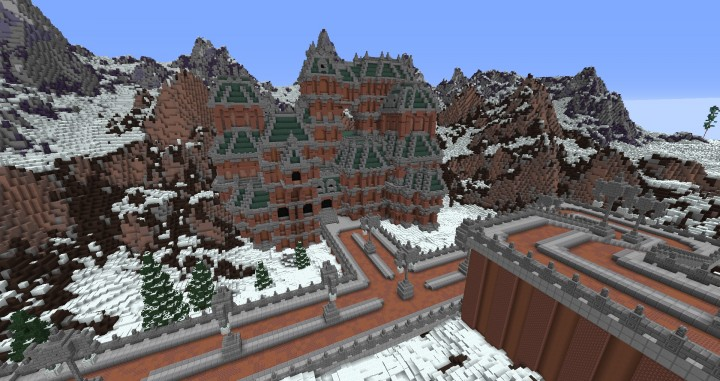 The Northin City by team Glassman minecraft building ideas download save amazing complete finished 11