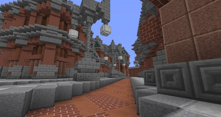 The Northin City by team Glassman minecraft building ideas download save amazing complete finished 13