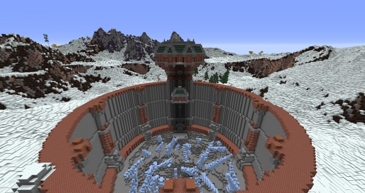 The Northin City by team Glassman minecraft building ideas download save amazing complete finished 15