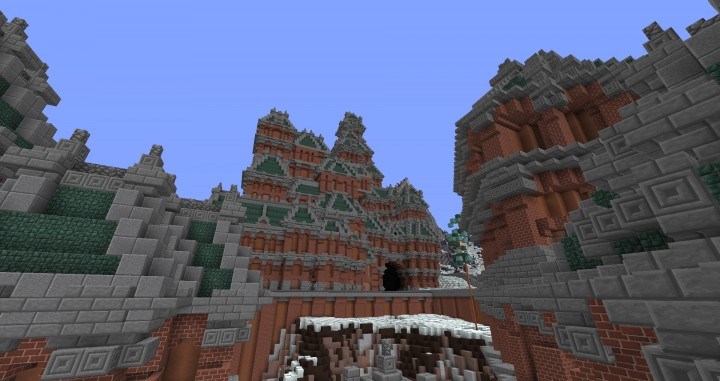 The Northin City by team Glassman minecraft building ideas download save amazing complete finished 6