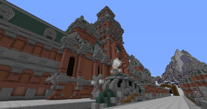 The Northin City by team Glassman minecraft building ideas download save amazing complete finished 7