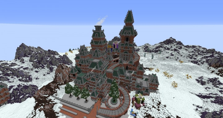 The Northin City by team Glassman minecraft building ideas download save amazing complete finished 9
