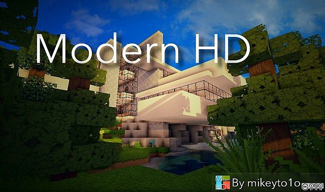 1.8.8 1.9 Modern HD Pack 64x realistic texture resource pack amazing high def snapshots 8