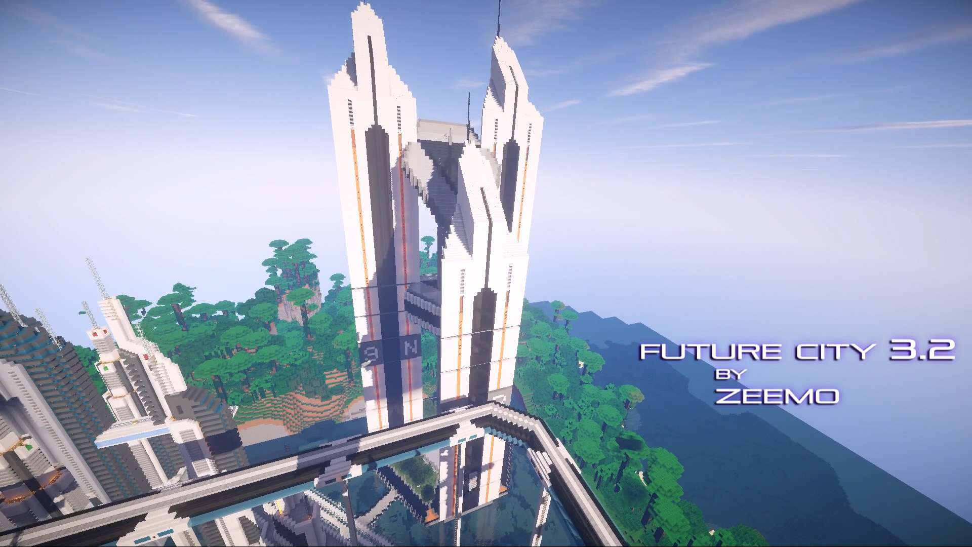 Future City 3 2 Minecraft Building Inc
