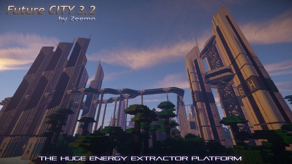 Future City 3.2 Minecraft amazing 3