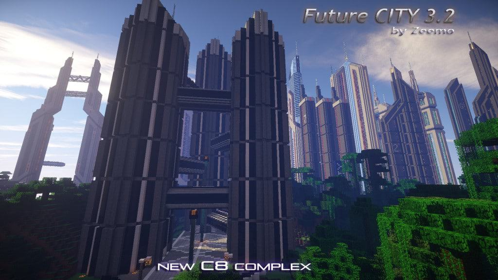 Future City 3.2 Minecraft amazing 4
