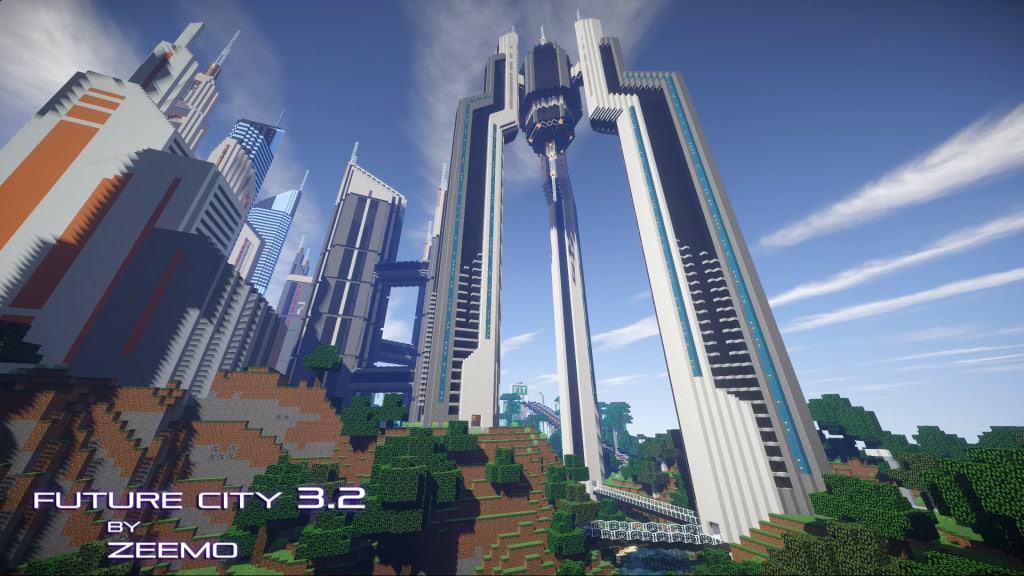 Future City 3.2 Minecraft amazing 8