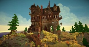 Medieval Playerhome fantacy minecraft building ideas download save 2 story house home