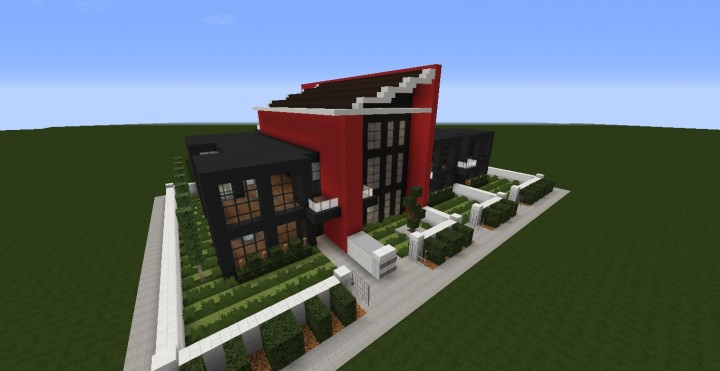 Modern Condo Apartment building minecraft ideas download save city complete 2