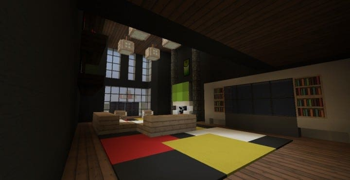 Modern Condo Apartment building minecraft ideas download save city complete 5