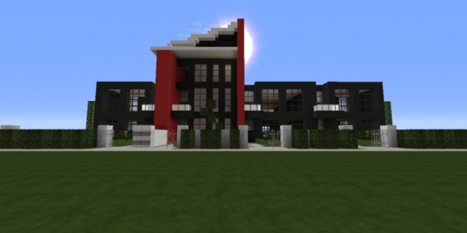 Modern Condo Apartment building minecraft ideas download save city complete