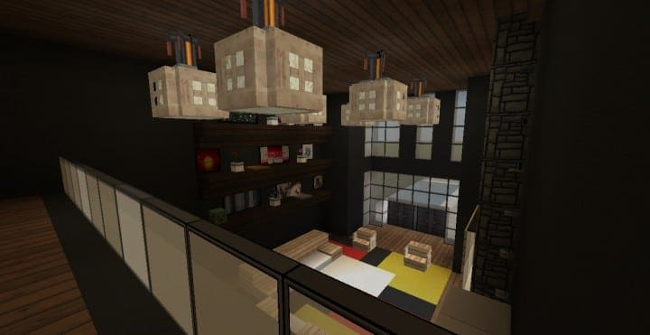 Modern Condo Apartment building minecraft ideas download save city complete 7