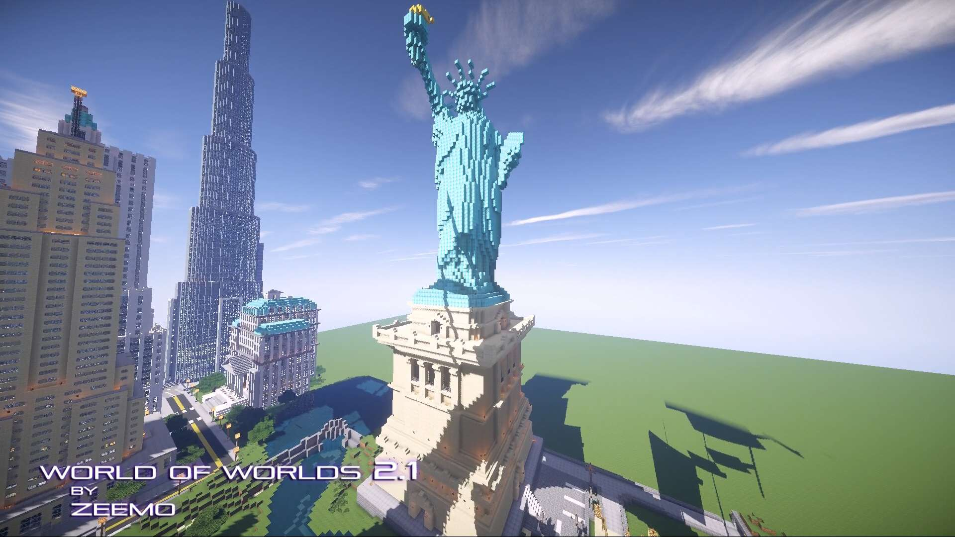 World of Worlds – Minecraft Building Inc