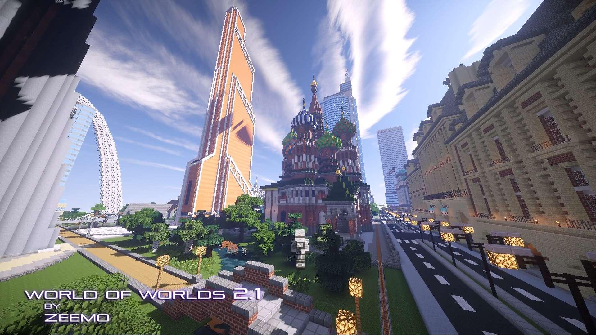 World of Worlds 2.1 update14