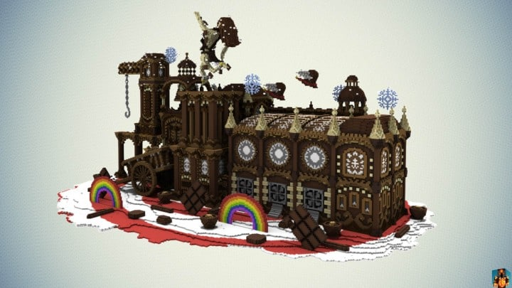 Chocolate Origins by MrSmith Cinematic download minecraft building ideas amazing factory 2