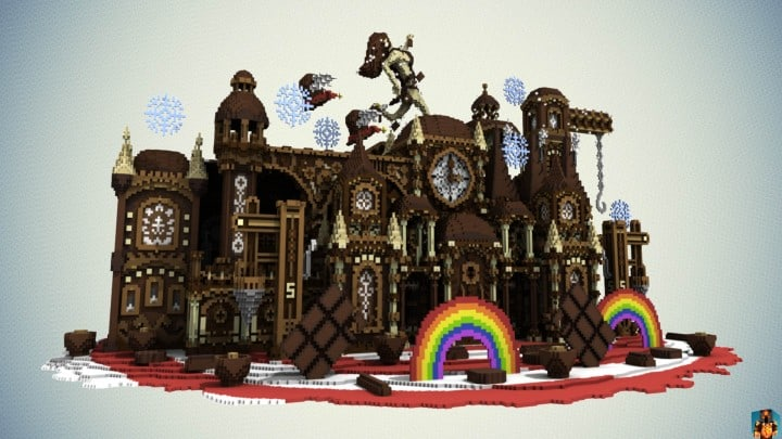 Chocolate Origins by MrSmith Cinematic download minecraft building ideas amazing factory