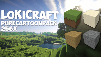 Photo of LoKiCraft Pure Cartoon Pack 256x