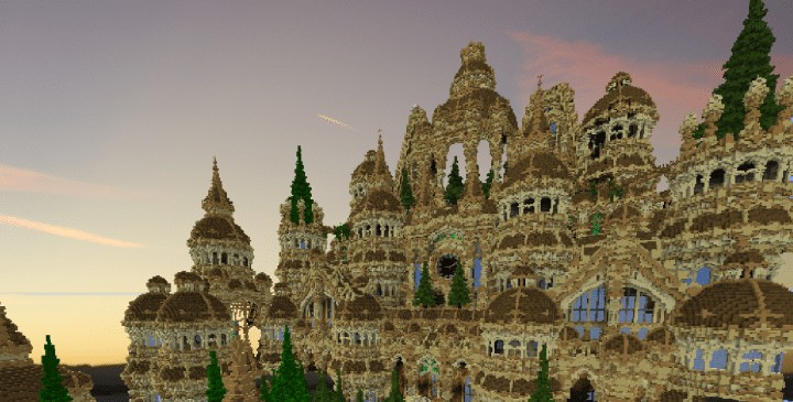 Temple Of Blohokaya minecraft purple castle download save amazing top 7