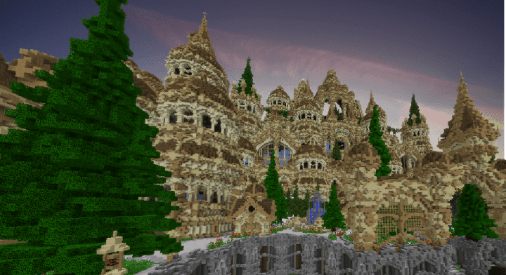 Temple Of Blohokaya minecraft purple castle download save amazing top 9