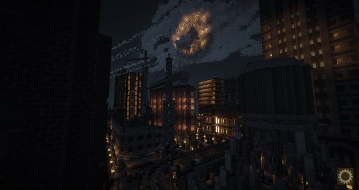 Gotham City Batmobile Minecraft building ideas download save city town complete batman 4