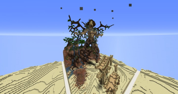 Return Of Life Demise of the Dead Minecraft building ideas download save dry desert 2