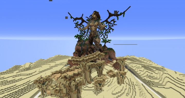 Return Of Life Demise of the Dead Minecraft building ideas download save dry desert 3