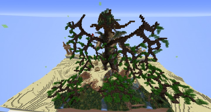 Return Of Life Demise of the Dead Minecraft building ideas download save dry desert 5