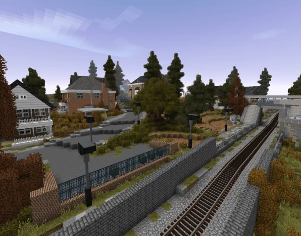 Minecraft Mod Rails of War Realistic tracks and trains models download amazing