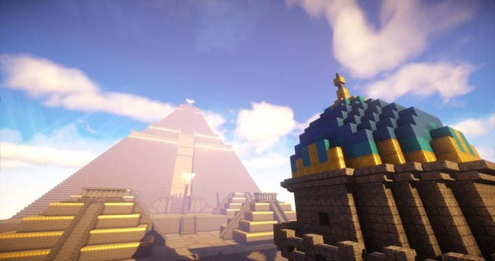 The Great Pyramid of Meereen  Game of Thrones Minecraft Building Ideas download HBO TV Show amazing egypt 2