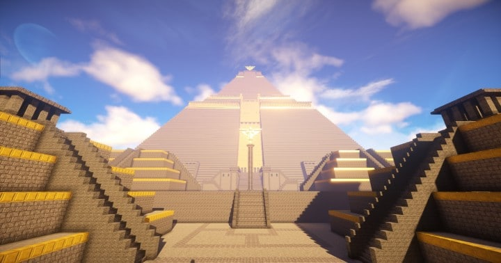 The Great Pyramid of Meereen  Game of Thrones Minecraft Building Ideas download HBO TV Show amazing egypt 3