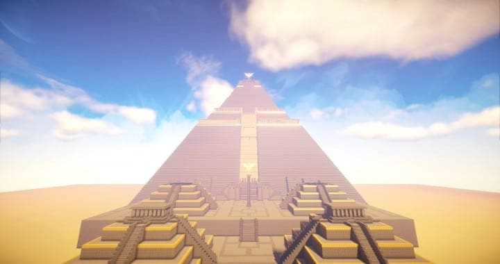The Great Pyramid of Meereen  Game of Thrones Minecraft Building Ideas download HBO TV Show amazing egypt 4