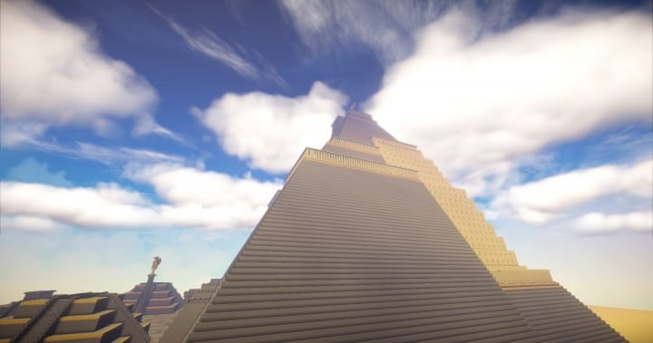 The Great Pyramid of Meereen  Game of Thrones Minecraft Building Ideas download HBO TV Show amazing egypt 6