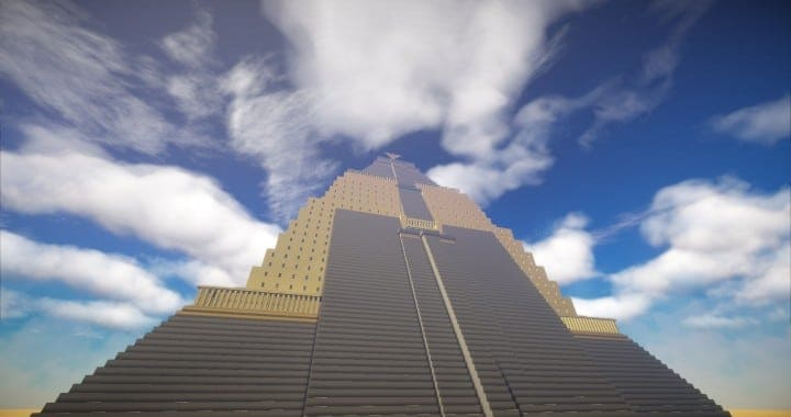 The Great Pyramid of Meereen  Game of Thrones Minecraft Building Ideas download HBO TV Show amazing egypt 7