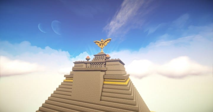 The Great Pyramid of Meereen  Game of Thrones Minecraft Building Ideas download HBO TV Show amazing egypt 8
